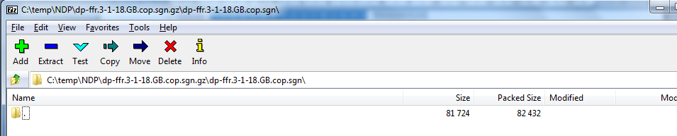 How to Extract the Contents of Cisco COP Files - IPCommute